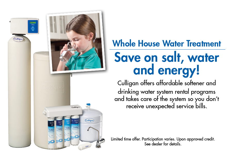 Culligan Fast Track Coupon Softener And Drinking Water System Al
